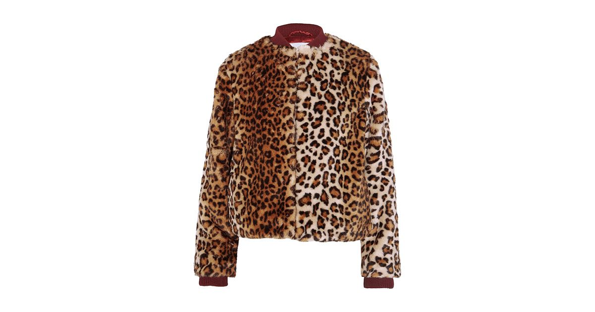 c83015b0431 Treat Yourself With a Leopard-Print Bomber Jacket by Ganni