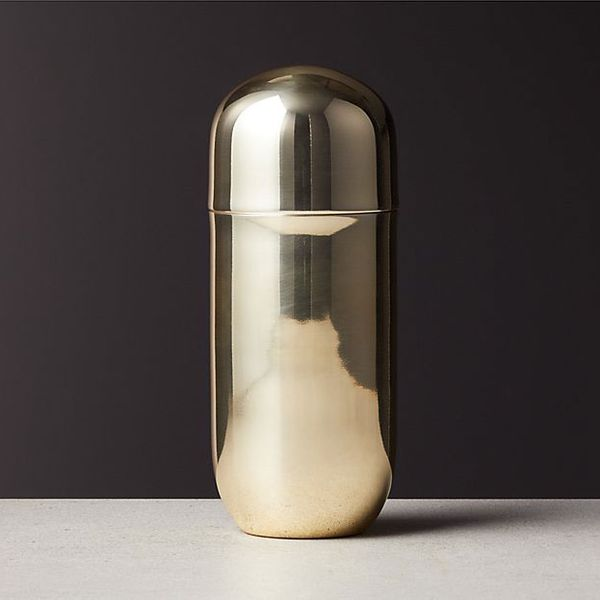 Mae Champagne Gold Cocktail Shaker