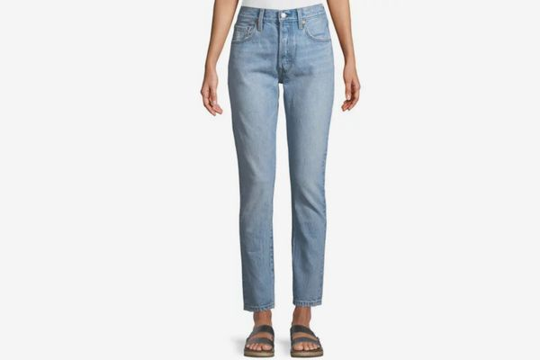 Levi's Premium 501 Lovefool High-Rise Skinny-Leg Jeans