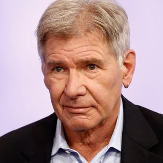 TODAY -- Pictured: Harrison Ford appears on NBC News'