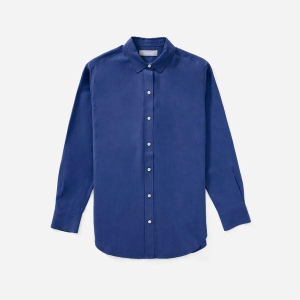 Everlane The Clean Silk Relaxed Shirt