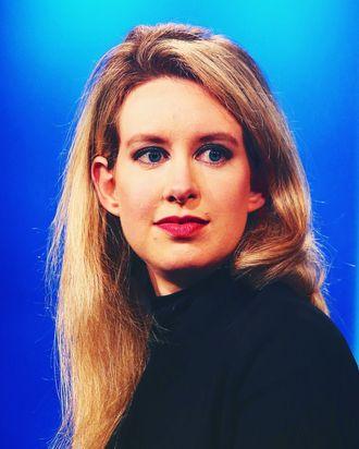 Elizabeth Holmes.