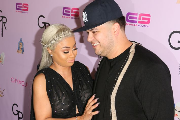 Blac Chyna Leaves Rob Kardashian ... And Takes Their Baby