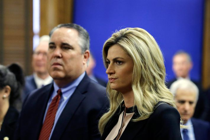 Erin Andrews in court today.