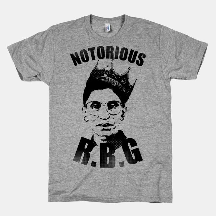 ruth bader ginsburg outfits her friends with notorious r b g merch