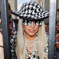 "NEW YORK, NY - AUGUST 01:  Singer Lady Gaga leaves the ""View"" taping at the ABC West End Studios on August 1, 2011 in New York City.  (Photo by Ray Tamarra/Getty Images)"