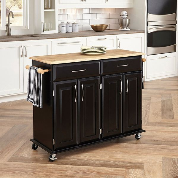Kitchen Cart - Origami Kitchen Cart | The Container Store | 600x600