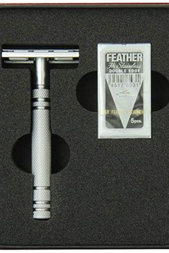 Feather AS-D2 All Stainless Steel Safety Razor