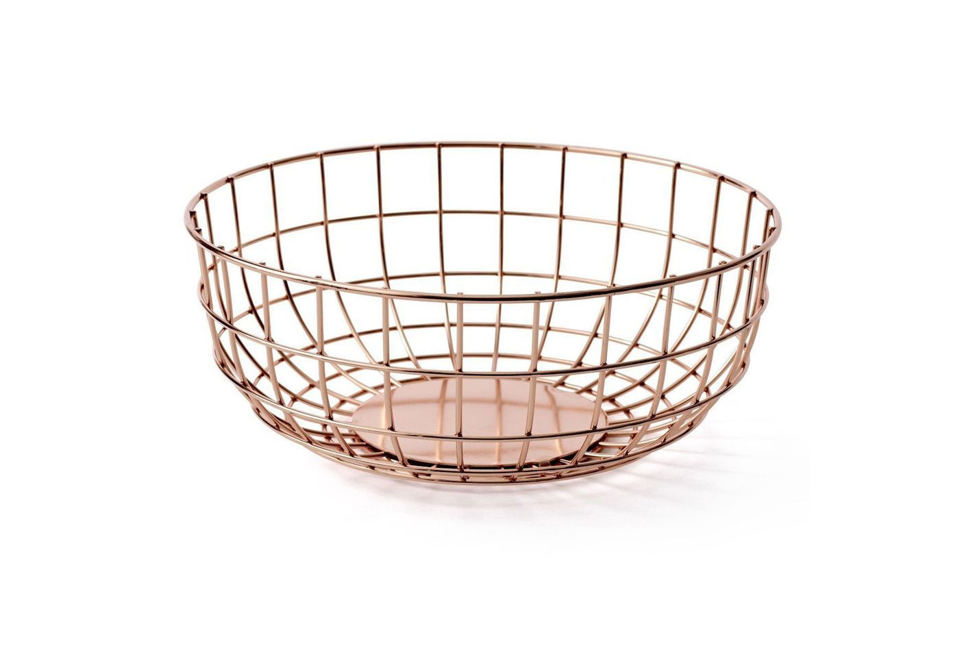 Menu Copper Wire Bowl
