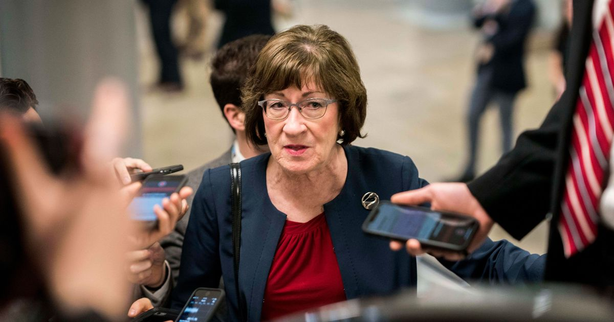 Susan Collins's Approval Rating Dives As 2020 Approaches