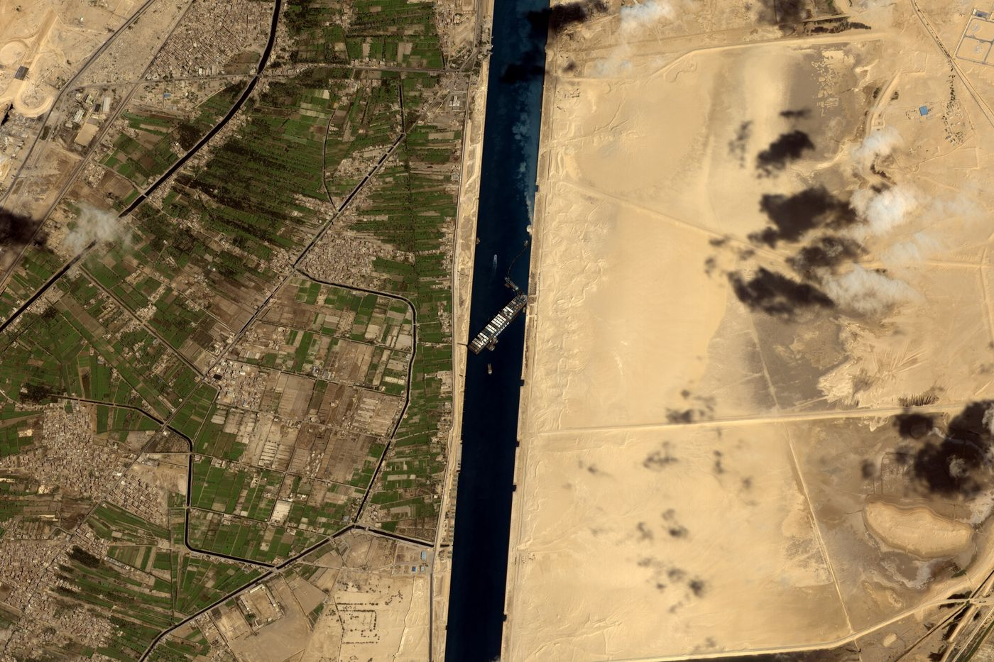 The Suez Canal Ship Is Finally Free: Updates