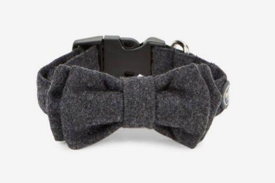 Max-Bone Gustav Wool Bow Tie Collar