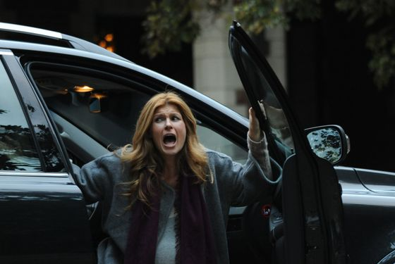 AMERICAN HORROR STORY: Episode 11: BIRTH (Airs December 14, 10:00 pm e/p). Pictured: Connie Britton. CR: Mike Ansell / FX