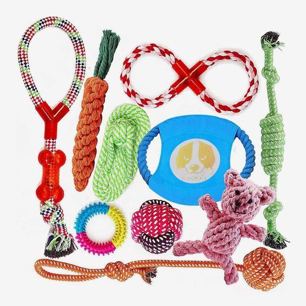 10-Piece Rope Chew Toy Set