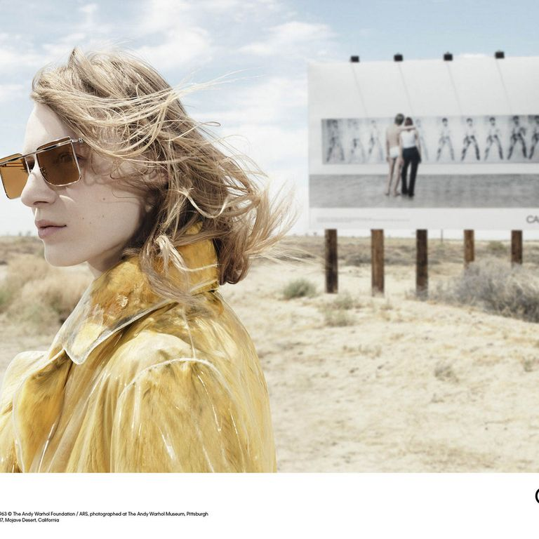 f886ae266f Can You Spot Elvis in This New Calvin Klein Ad Willy Vanderperre shot the  brand s new campaign in the California desert.