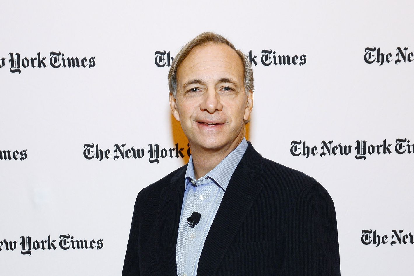 Founder of Bridgewater Associates Ray Dalio attends the New York Times 2013 DealBook Conference in New York at the New York Times Building on November 12, 2013 in New York City.