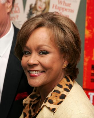 TV Anchor Sue Simmons attends the New York Premiere of