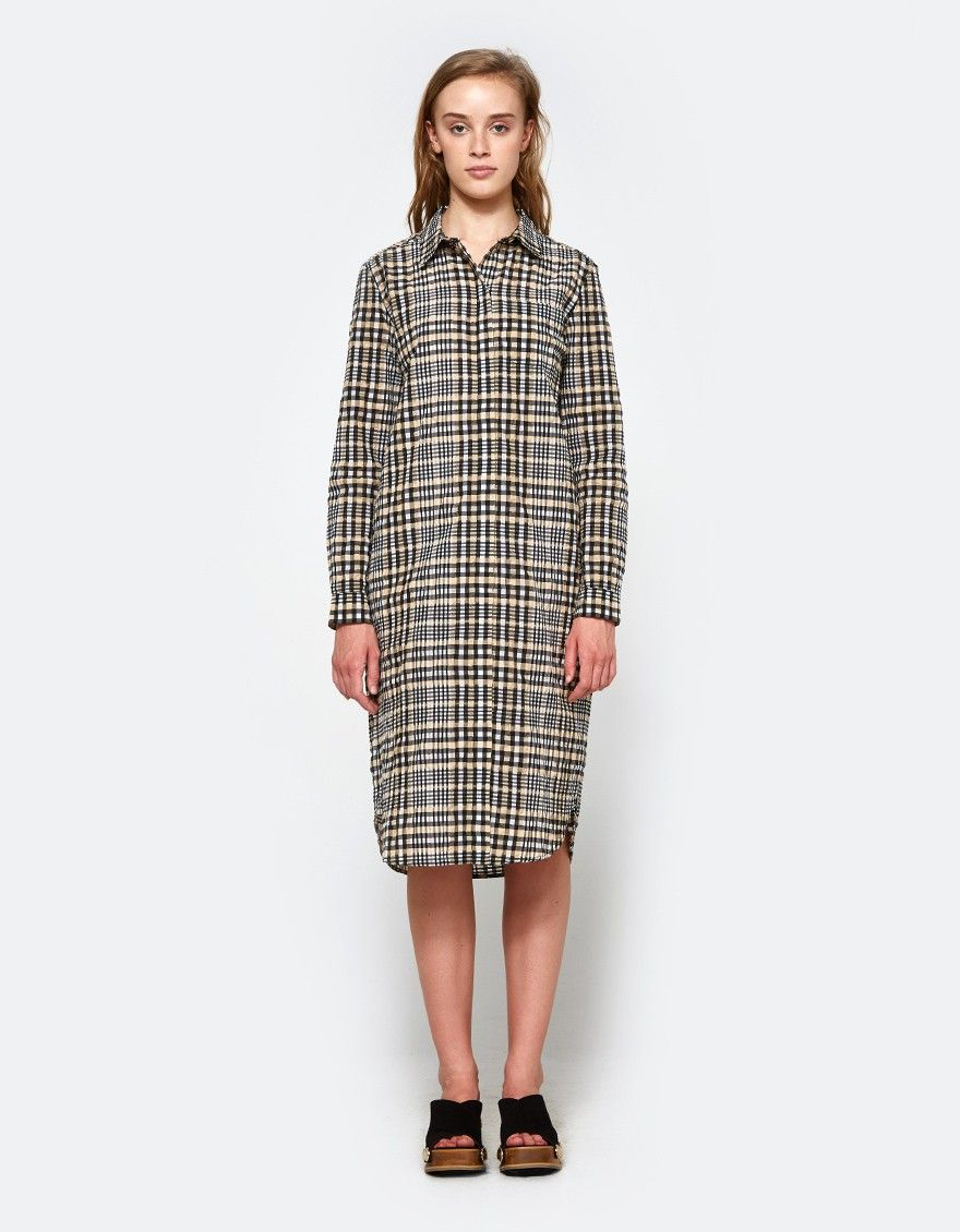 Ganni Charron Shirt Dress