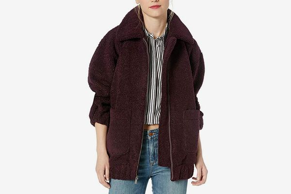 Splendid Women's Oversized Teddy Jacket