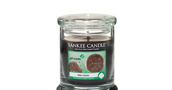 yes there is actually a new line of girl scout cookie candles
