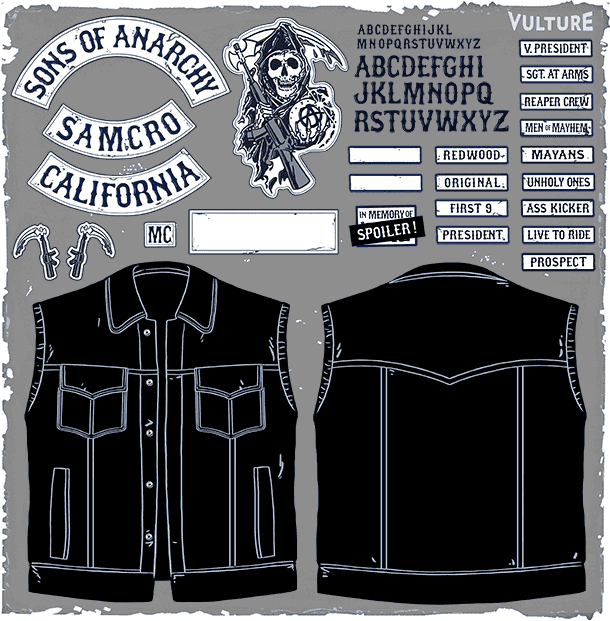 Sons of Anarchy paperdoll