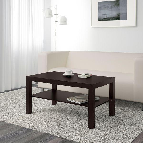 Ikea Lack Black-Brown Coffee Table