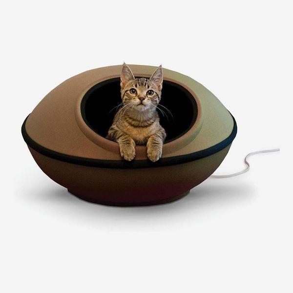 K & H Pet Products Mod Dream Pod Heated Pet Bed