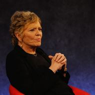 NEW YORK - OCTOBER 13:  Linda Ellerbee speaks on stage at the 20th Anniversary of Nick News with Linda Ellerbee at Paley Center For Media on October 13, 2011 in New York City.  (Photo by Larry Busacca/Getty Images for Nickelodeon)