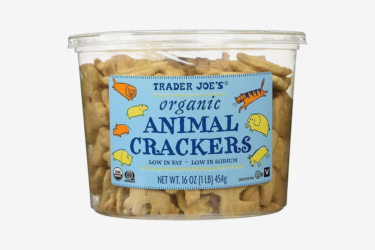 Trader Joes Organic Animal Crackers