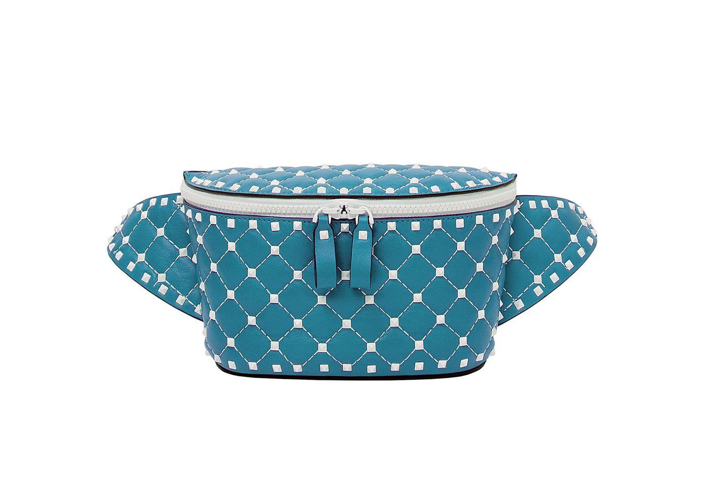 VLTN Rockstud Spike Belt Bag