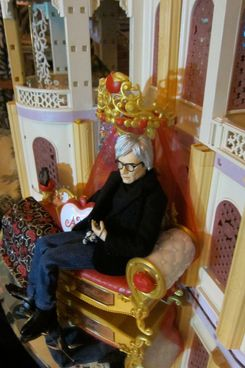 The writer-collector's Andy Warhol doll.