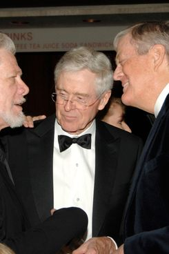 Samuel Ramey, Charles Koch, David Koch==New York City Opera's Theater Debut Celebration==Lincoln Center, NYC==November 5, 2009.==