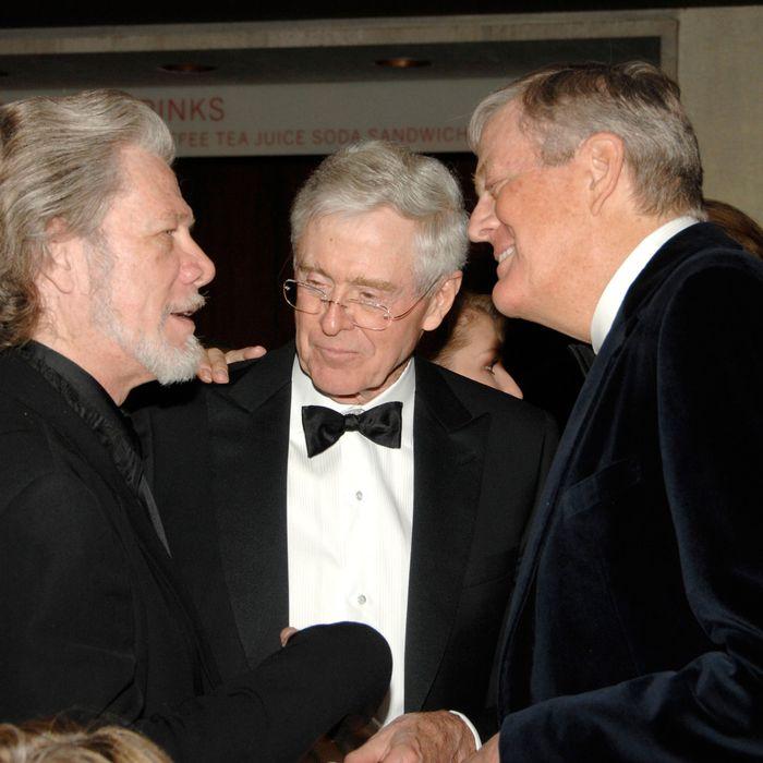 Samuel Ramey, Charles Koch, David Koch==New York City Opera's Theater Debut Celebration==Lincoln Center, NYC==November 5, 2009.==
