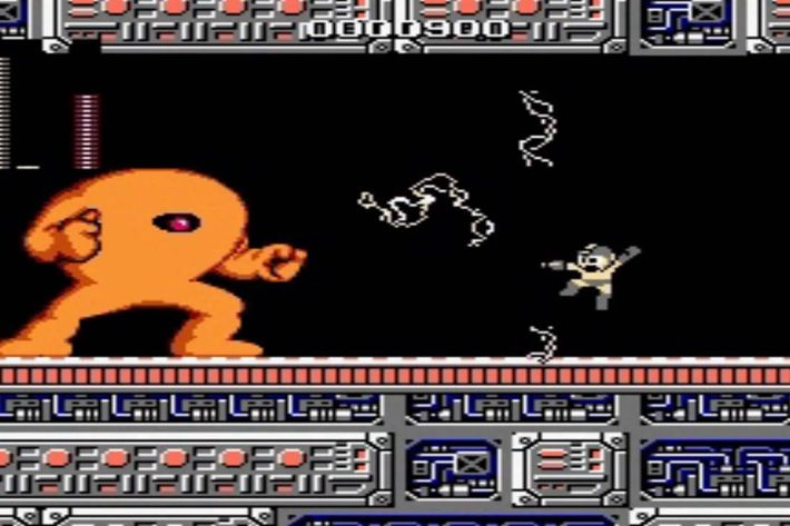 d4392d9caeb The original Mega Man is difficult enough as it is, composed almost  completely of tough-to-kill enemies, unforgiving, pixel-perfect jumps and  stupidly tough ...