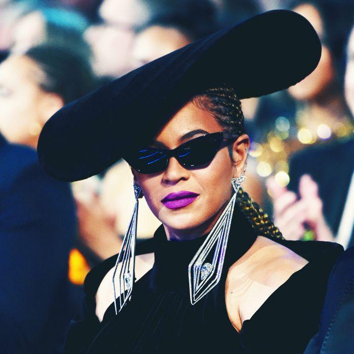 Beyoncé at the 2018 Grammy Awards.