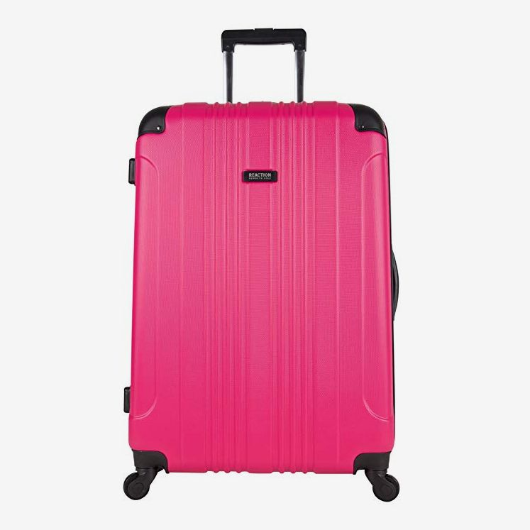 Kenneth Cole Reaction Out of Bounds 28-Inch Check-Size Lightweight Durable Hard-Shell 4-Wheel Spinner Upright Luggage