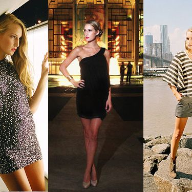 Looks from the Gossip Girl line.