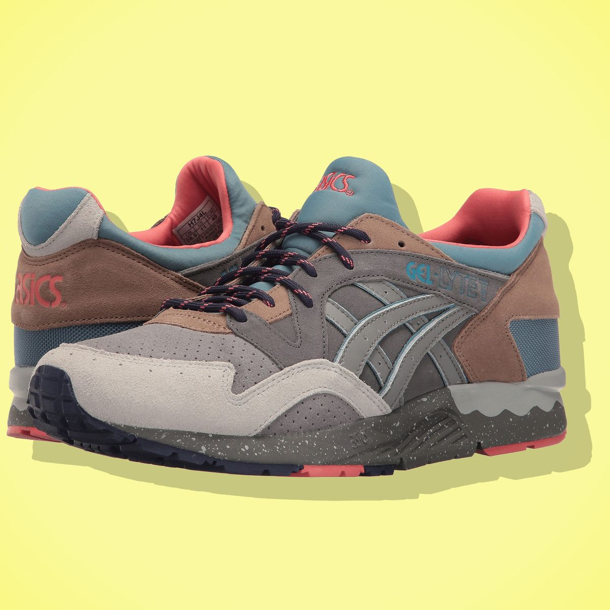 new style b7d1d 7ec8b The Most Comfortable Sneakers Are Asics Gel Lyte 2017