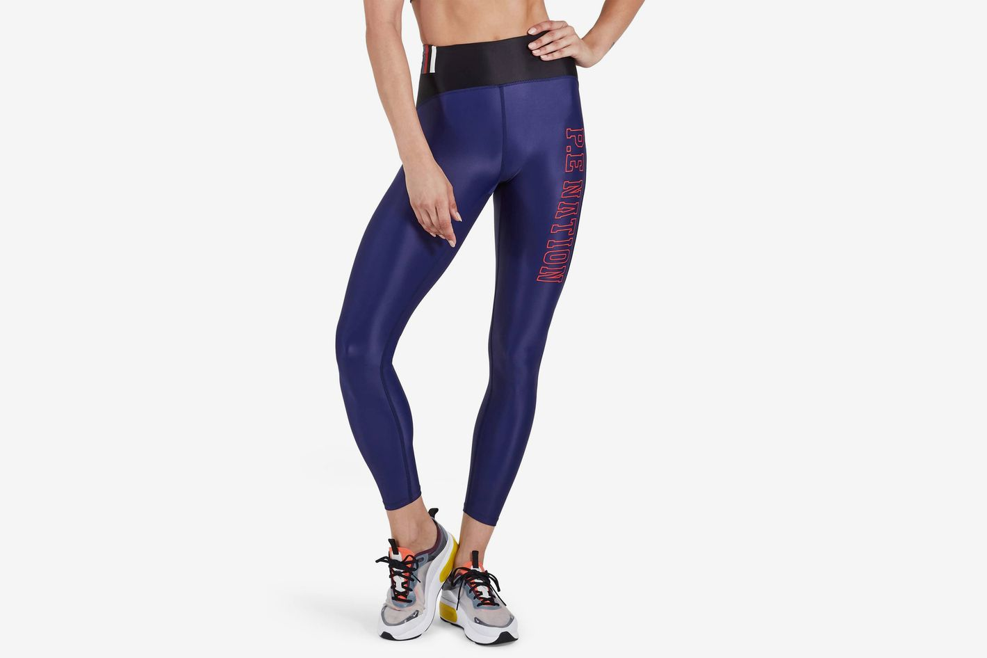 0a00a6457b121 Best for hot yoga. P.E. Nation Discus High Waist Leggings