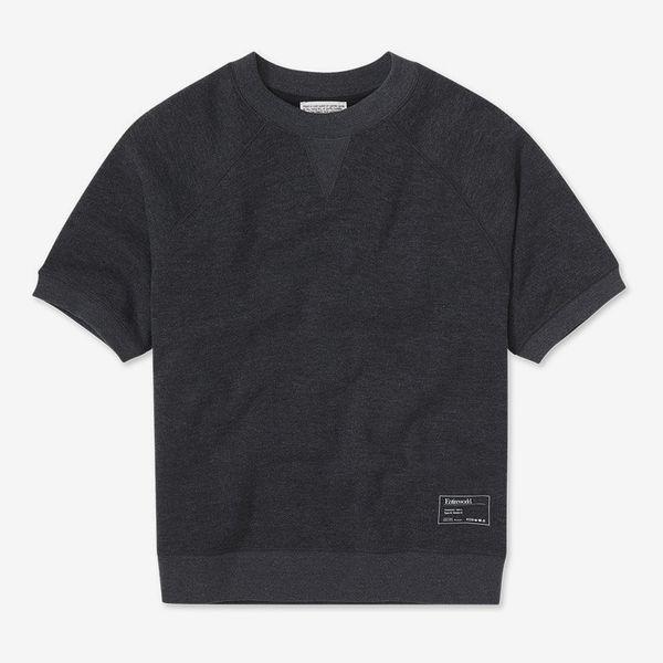 Entireworld Short-Sleeve Loop Back Sweatshirt