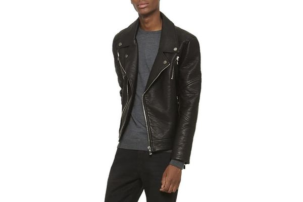 Best under-$200 leather jacket is from Elmut.