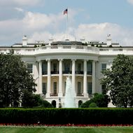 WASHINGTON - MAY 31:  The exterior view of the south side of the White House is seen May 31, 2005 in Washington, DC. Vanity Fair Magazine reported that former FBI official W. Mark Felt claimed himself was ?Deep Throat,? the anonymous source who provided information to Washington Post reporter Bob Woodward?s famous Watergate investigation report that led to the former President Richard Nixon's resignation.  (Photo by Alex Wong/Getty Images)