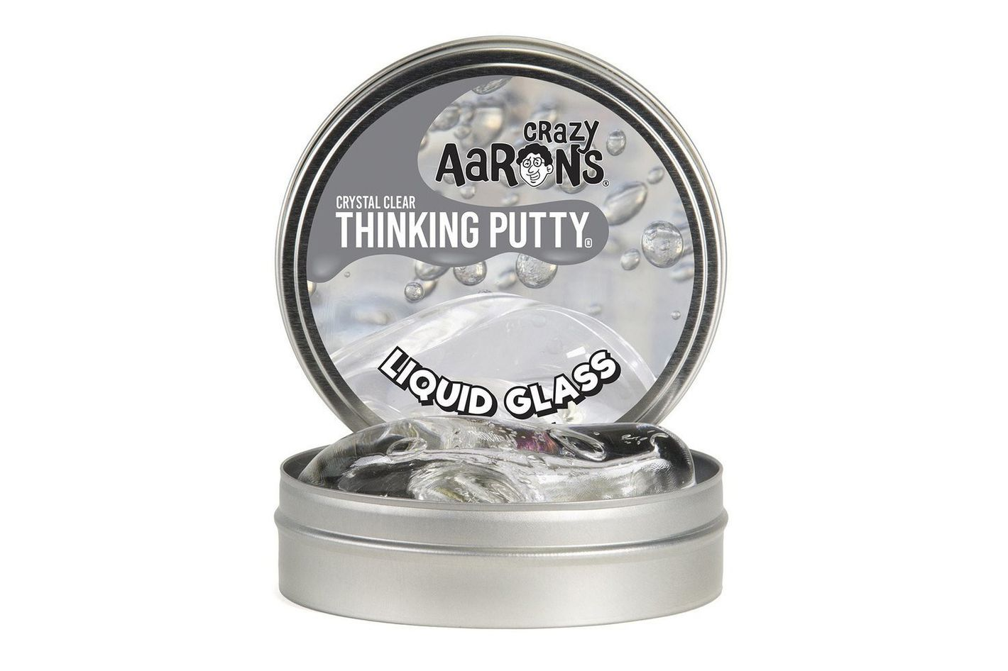 Crazy Aaron's Thinking Putty, 3.2 Ounce, Liquid Glass
