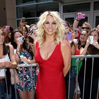 PROVIDENCE, RI - JUNE 27: Britney Spears attends
