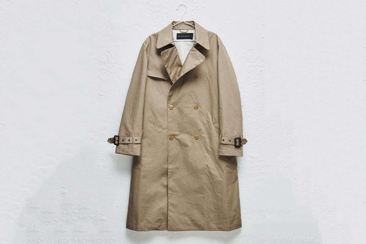 French Connection Waterproof Trench Coat