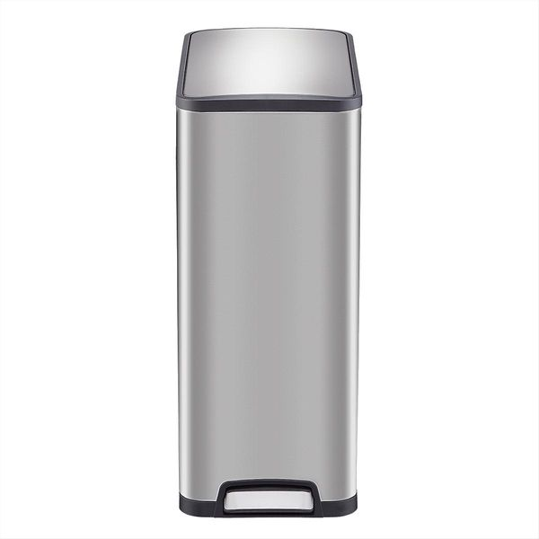 The Container Store Slim Step Trash Can