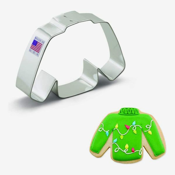 Ann Clark Cookie Cutters Ugly Wool Sweater Cookie Cutter