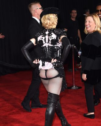 Madonna at the 2015 Grammys.