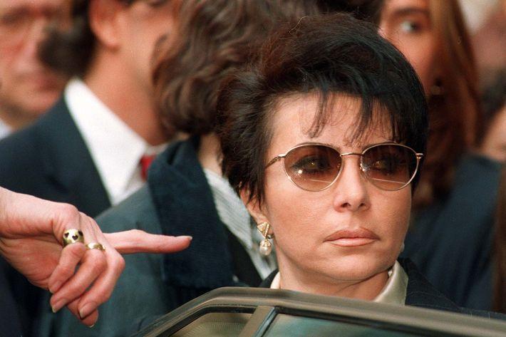 Patrizia Reggiani, pictured in 1995, arranged for the killing of Maurizio Gucci.