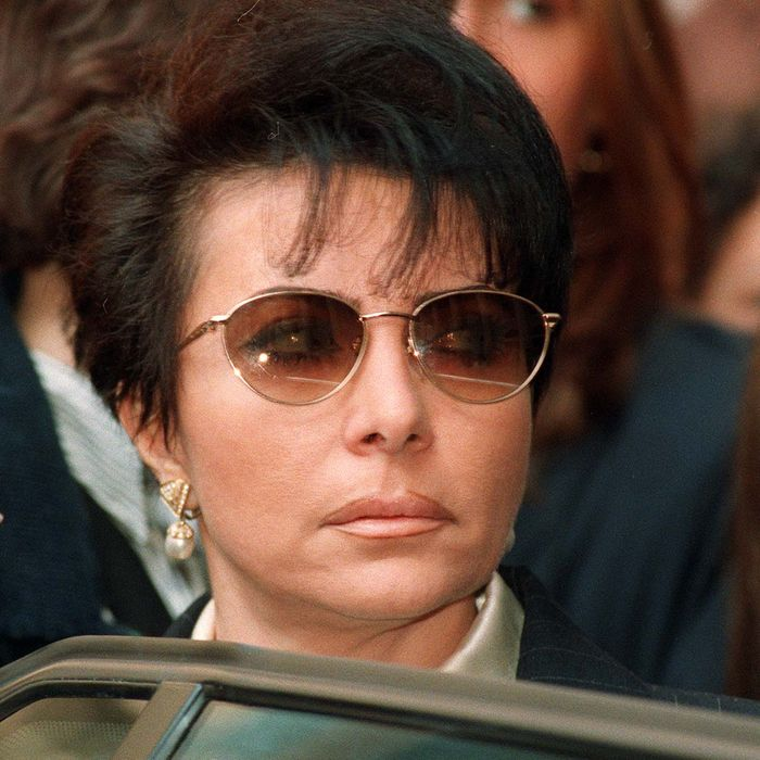 Patrizia Reggiani, pictured in 1995, arranged for the killing of Maurizio Gucci.